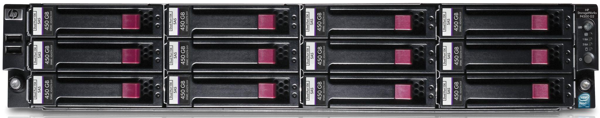 HP Hewlett-Packard P4500 ProLiant DL180 G6