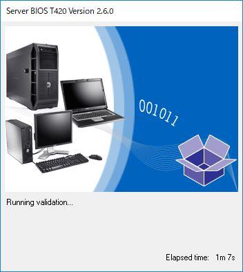 DELL PowerEdge T420 BIOS VersionUP
