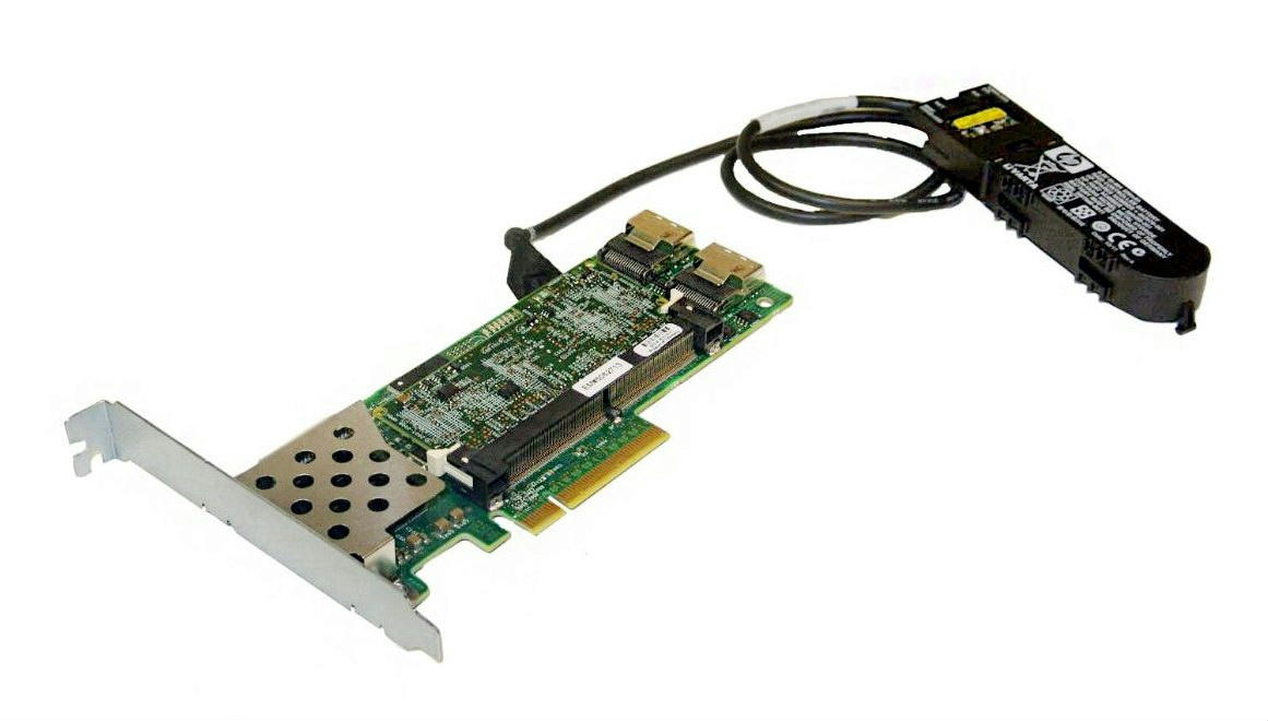 HP Smart Array P410 is HP's 6G Serial Attached SCSI